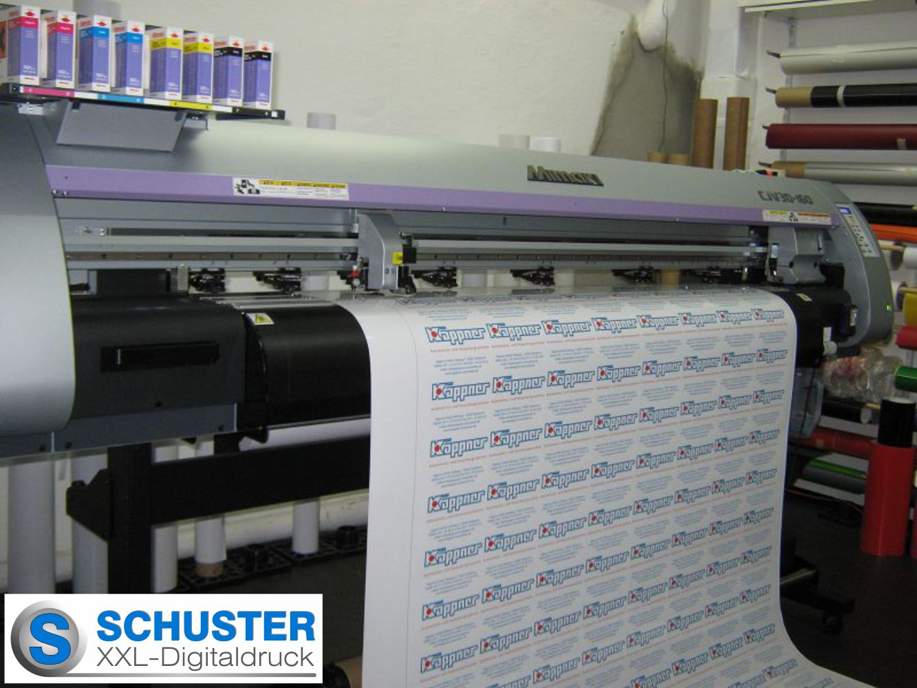 Grossformat - Digitaldrucker Mimaki CJV30