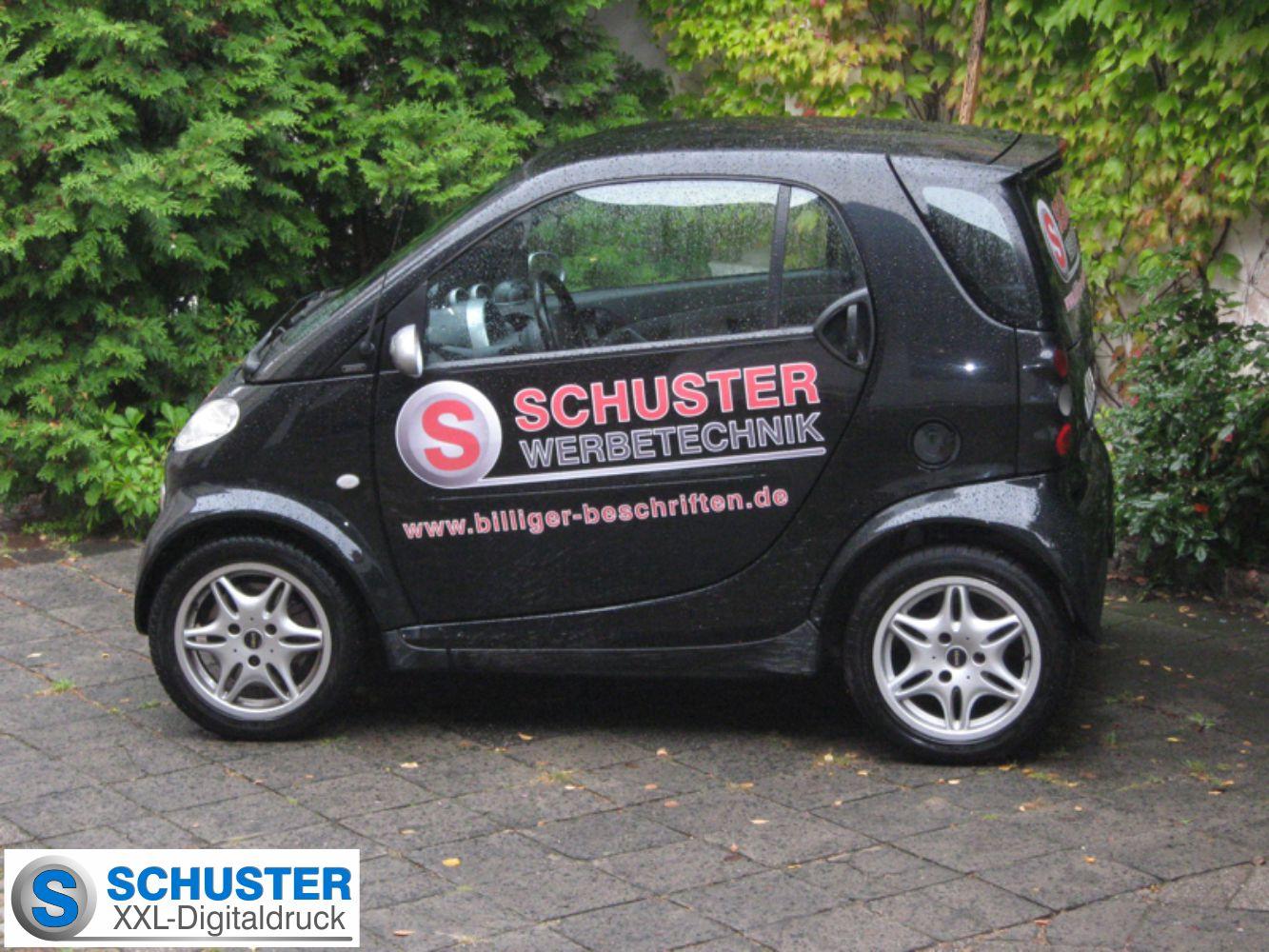 Smart - Autobeschriftung von SCHUSTER WERBETECHNIK
