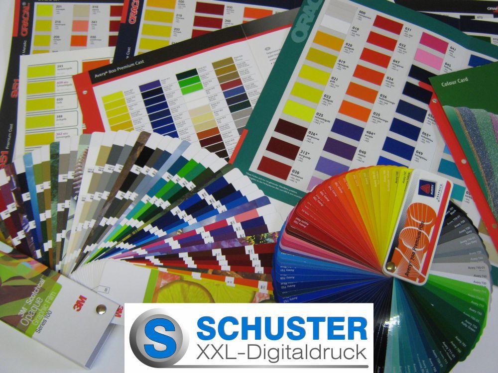 Farbfolien - Folienbuchstaben - Logo